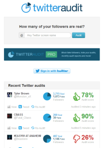 check if twitter followers are real people or bots