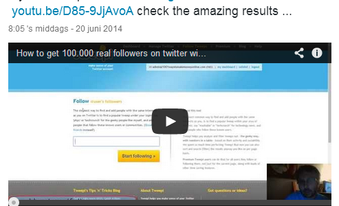 how to get twitter followers tutorial video